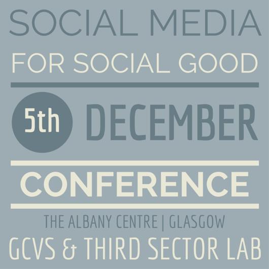 Social Media for Social Good – Glasgow 5th Dec 2014