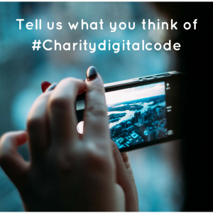 Tell us what you think of #CharityDigitalCode