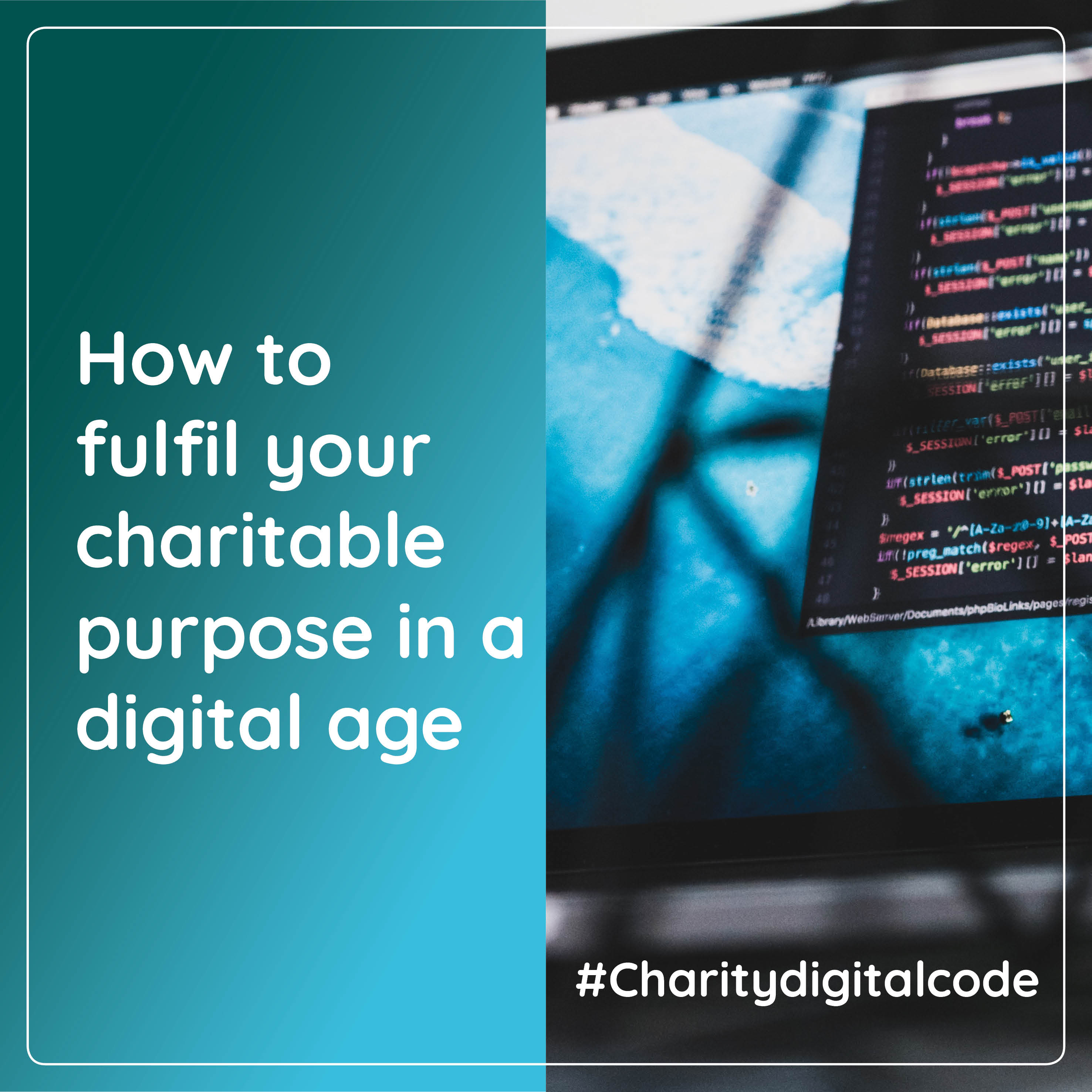 The Charity Digital Code of Practice could be a game changer